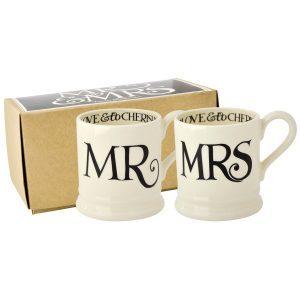 Emma Bridgewater Black Toast Mr & Mrs