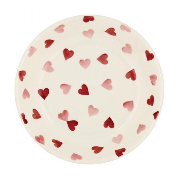 Emma Bridgewater Pink Hearts Small Pasta Bowl