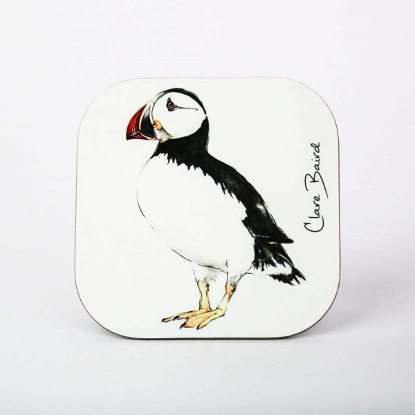 Puffin Coaster - by Clare Baird