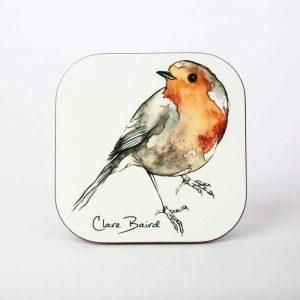 Robin Coaster - by Clare Baird