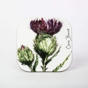 Thistle Coaster - by Clare Baird