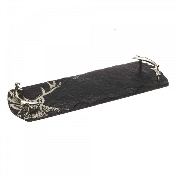 Just Slate - Small Stag Serving Tray