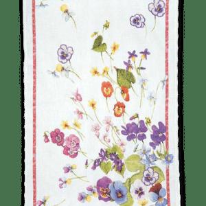 Mammola Rosa - Linen Tea Towel - Made in Italy