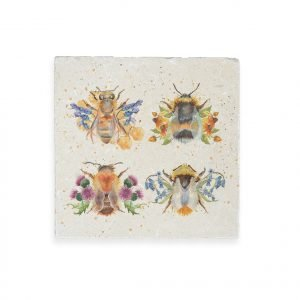 Bees Medium Platter - British Collection by Kate of Kensington