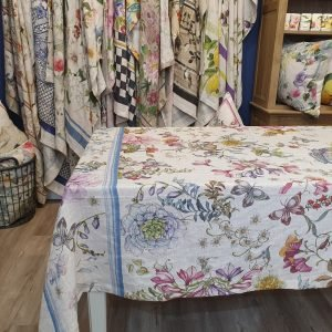 Semiramide Throw/Tablecloth - 100% Linen Made in Italy