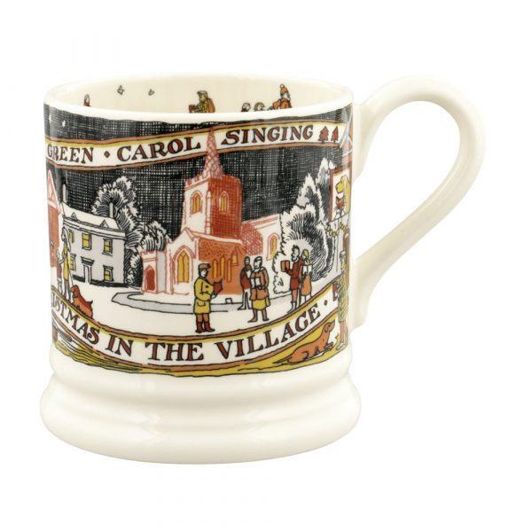 Emma Bridgewater Christmas In The Village 1/2 Pint Mug