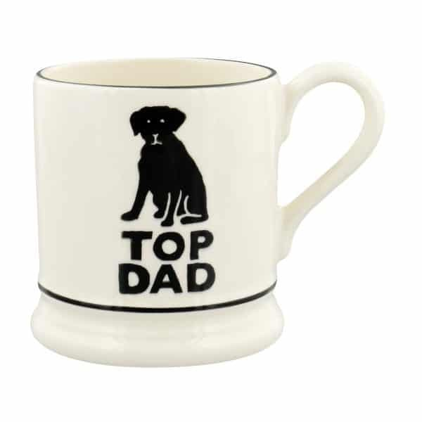 Emma Bridgewater Bright Mugs Top Dad 1/2 Pint Mug