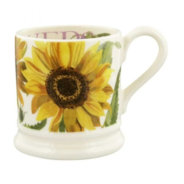 Emma Bridgewater Flowers Sunflower 1/2 Pint Mug