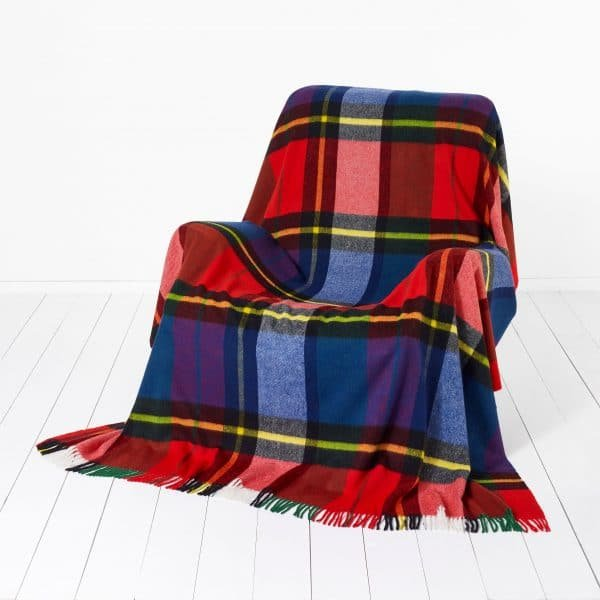 Madison Throw - Check Tartan - Bronte by Moon