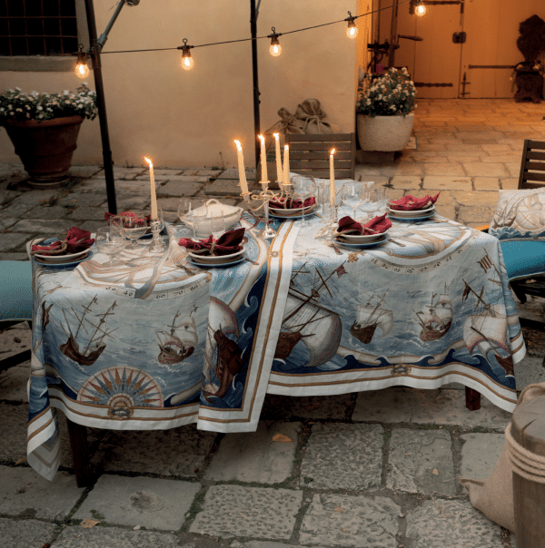 Bounty Tablecloth Made in Italy