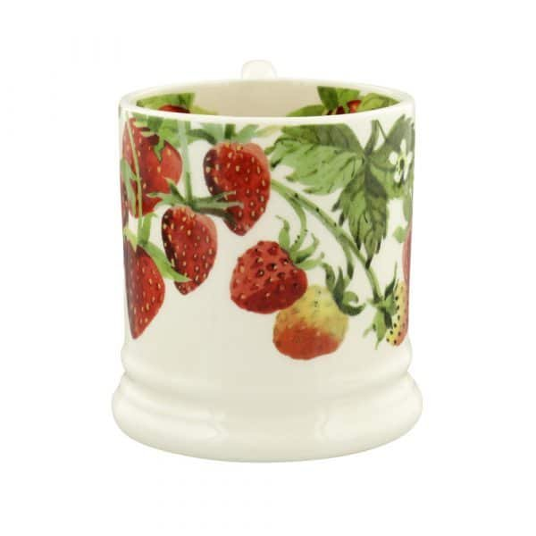 Emma Bridgewater Fruit Garden Strawberries 1/2 Pint Mug