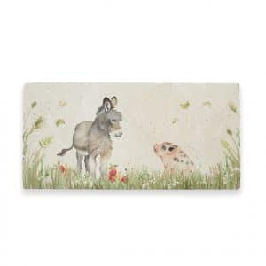 Donkey Foal & Piglet Sharing Platter – Country Companions by Kate of Kensington